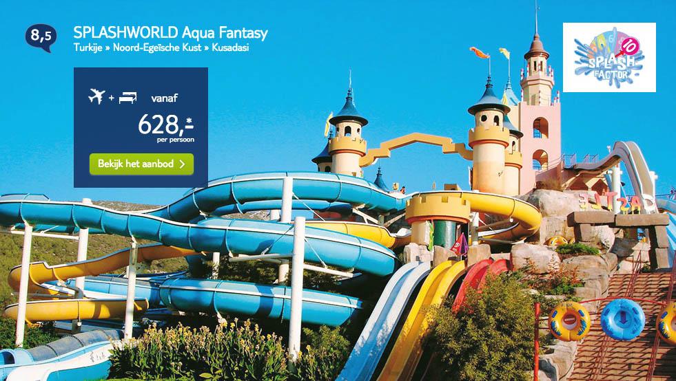 Arke Splashworld vakanties met waterparken1