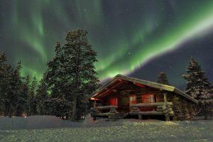 Wintervakantie naar Fins Lapland met Arke1