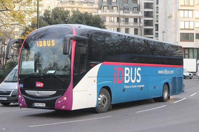 Goedkope bus met IDBUS naar Brussel
