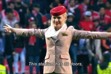 Emirates stewardess Benfica