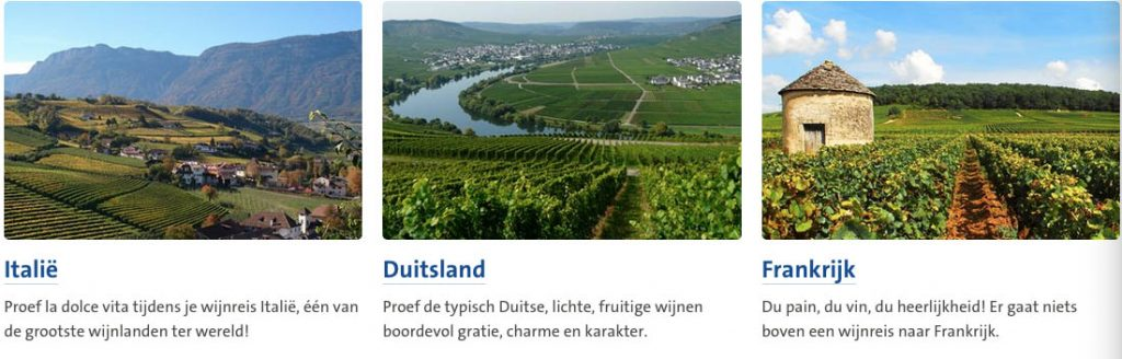 Goedkope wijnreizen in Europa6
