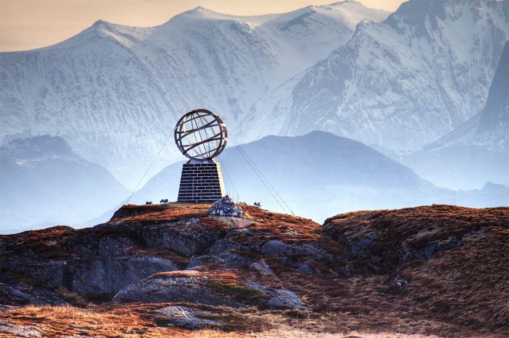 Auto of Camperrondreis door Noorwegen1