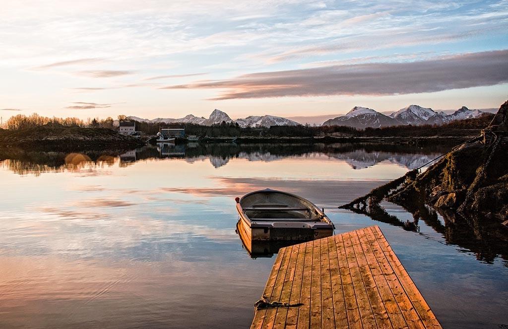 Auto of Camperrondreis door Noorwegen11
