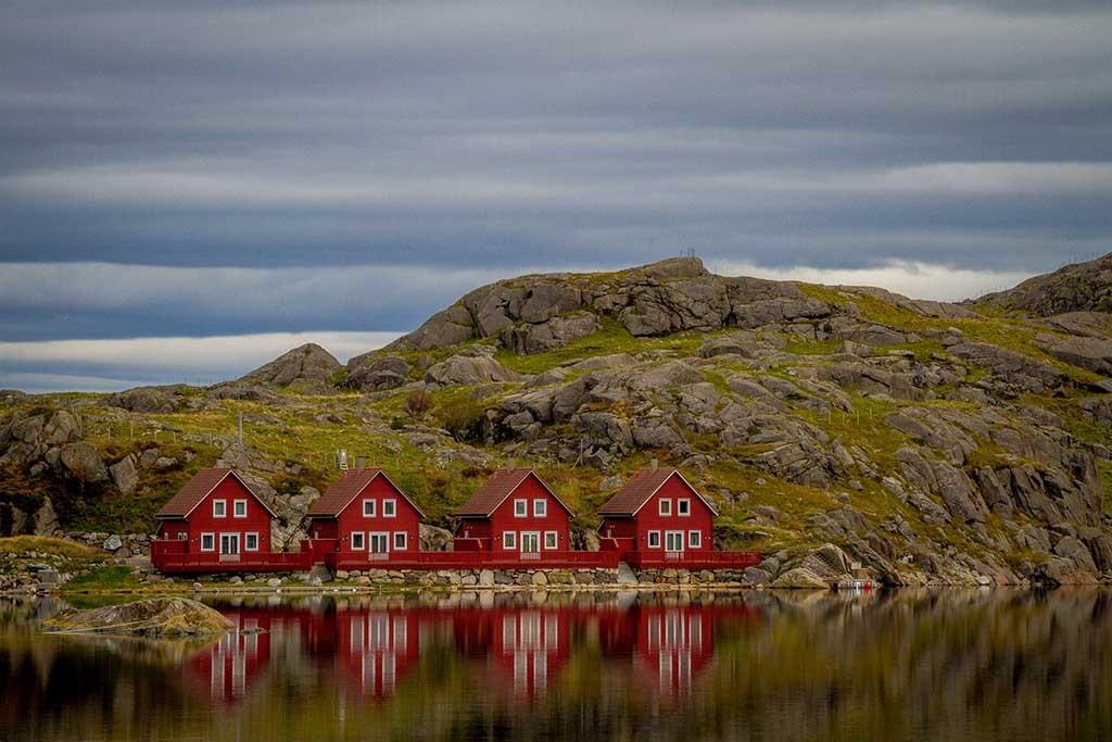Auto of Camperrondreis door Noorwegen13