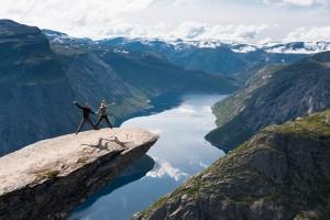 Auto of Camperrondreis door Noorwegen14