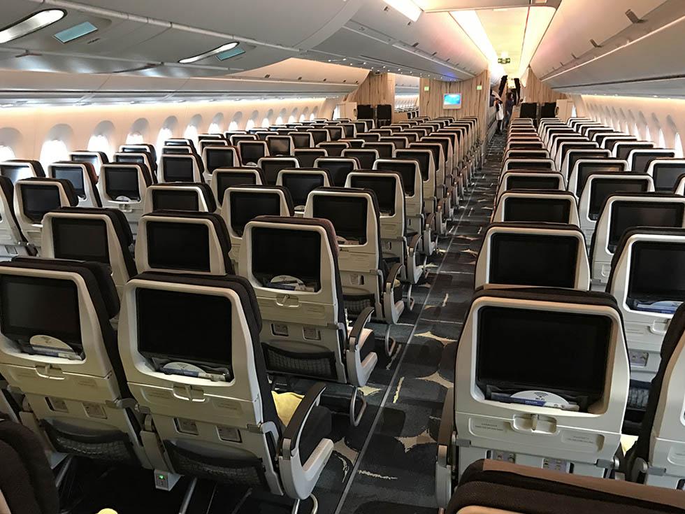 Goedkope vliegtickets van China Airlines met de nieuwste Airbus A350 foto12