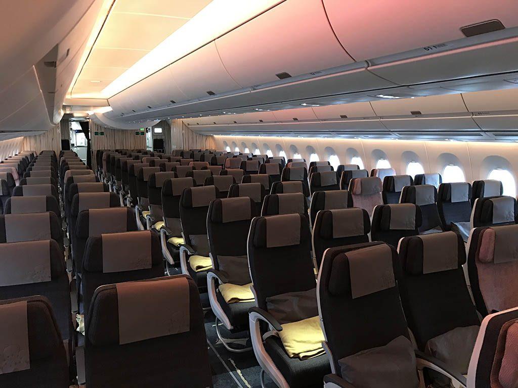 Goedkope vliegtickets van China Airlines met de nieuwste Airbus A350 foto7