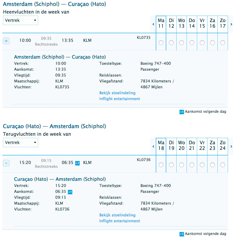 Goedkoop-KLM-ticket-Curacao-Willemstad-3