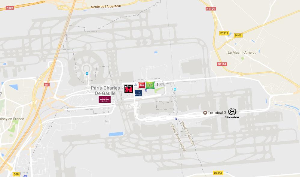 Paris CDG Airport hotel