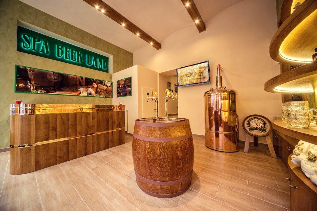 Bier Spa en Sauna Praag1