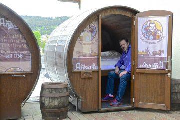 Overnachten in een biervat in het Duitse Thüringen1