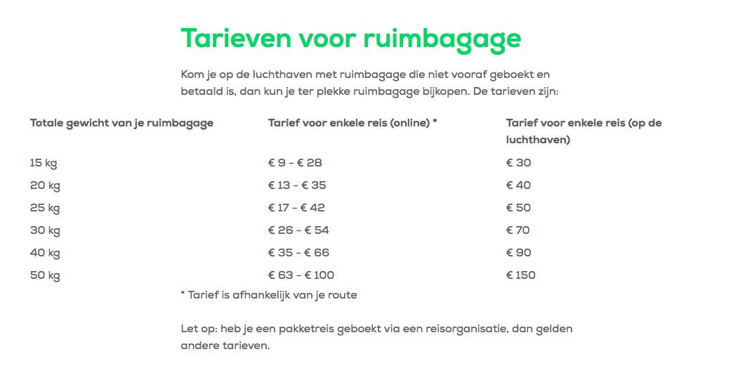 Toegestane Handbagage Koffers En Trolleys Bij Transavia12