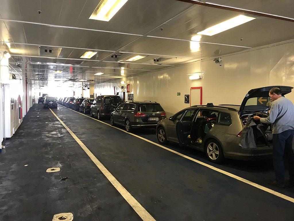 Ervaring Scandlines ferry Puttgarden Duitsland en Rodby Denemarken11