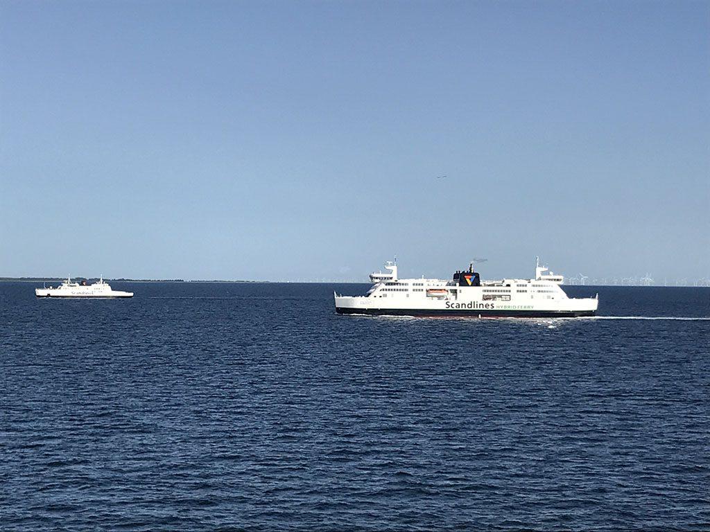 Ervaring Scandlines ferry Puttgarden Duitsland en Rodby Denemarken13