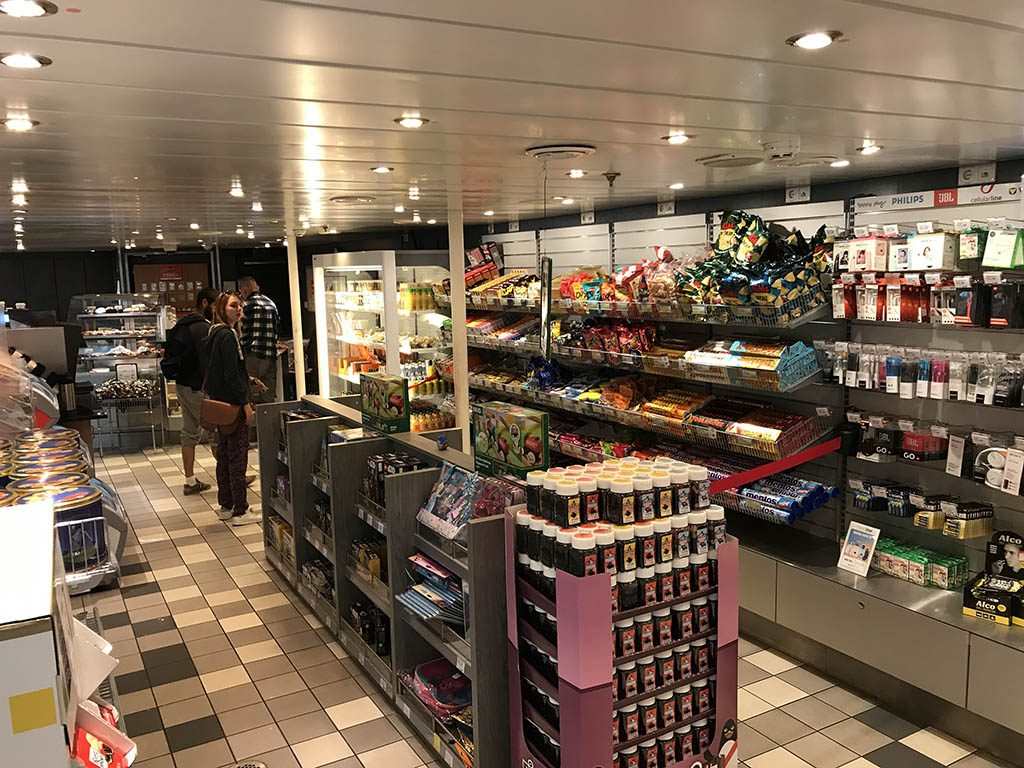 Ervaring Scandlines ferry Puttgarden Duitsland en Rodby Denemarken14