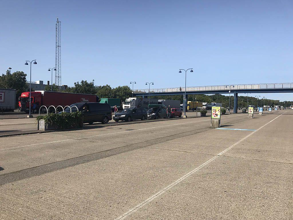 Ervaring Scandlines ferry Puttgarden Duitsland en Rodby Denemarken5