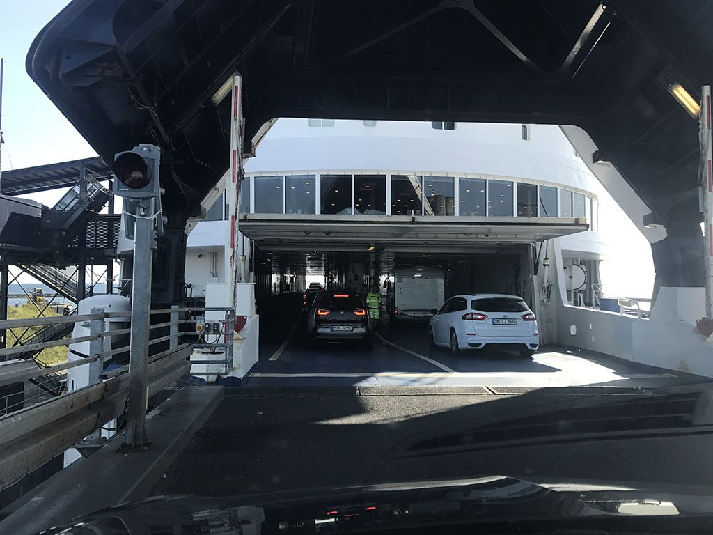 Ervaring Scandlines ferry Puttgarden Duitsland en Rodby Denemarken8