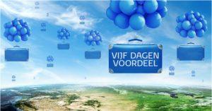 Vijf Dagen Voordeel KLM kortingsactie november