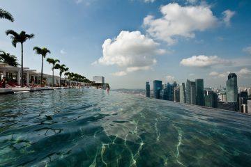 HET MOOISTE INFINITY POOL TER WERELD MARINA BAY SANDS SINGAPORE4
