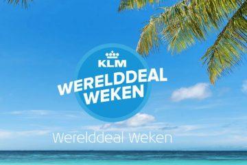 Wanneer zijn de KLM Werelddeal weken 2019