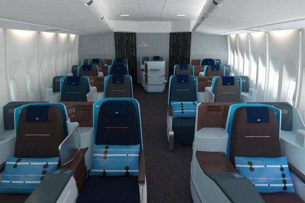 Gratis KLM ticket vliegen in business class1