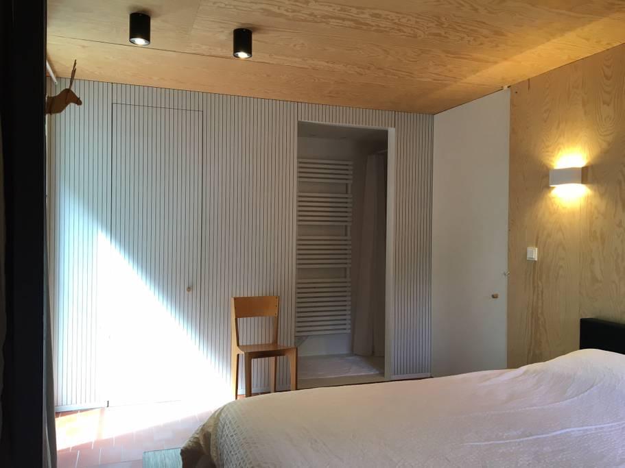 Overnachten huisje met houtkachel en uitzicht Ardennen18