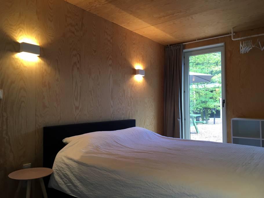 Overnachten huisje met houtkachel en uitzicht Ardennen19