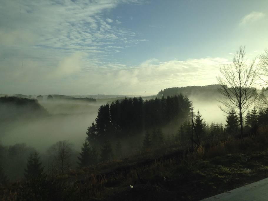 Overnachten huisje met houtkachel en uitzicht Ardennen24