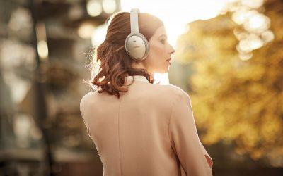 Beste Noise Cancelling Headphone voor op reis Bose QuietComfort 35 C