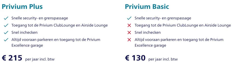 Gratis Privium op Schiphol met American Express creditcard 1