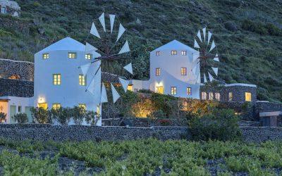 Vakantie windmolen villa Santorini Griekenland 10