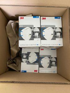 3M 8822 FFP2 Mondkapjes met ventiel en filter 3