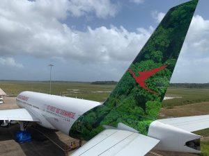 Boeing 777 van SLM met vertraging naar Paramaribo