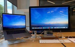 Imac als tweede scherm gebruiken Macbook Pro