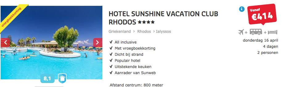 Goedkope Sunweb vakanties naar Griekenland5
