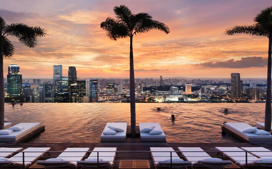 Marina Sands Singapore Infinity Pool