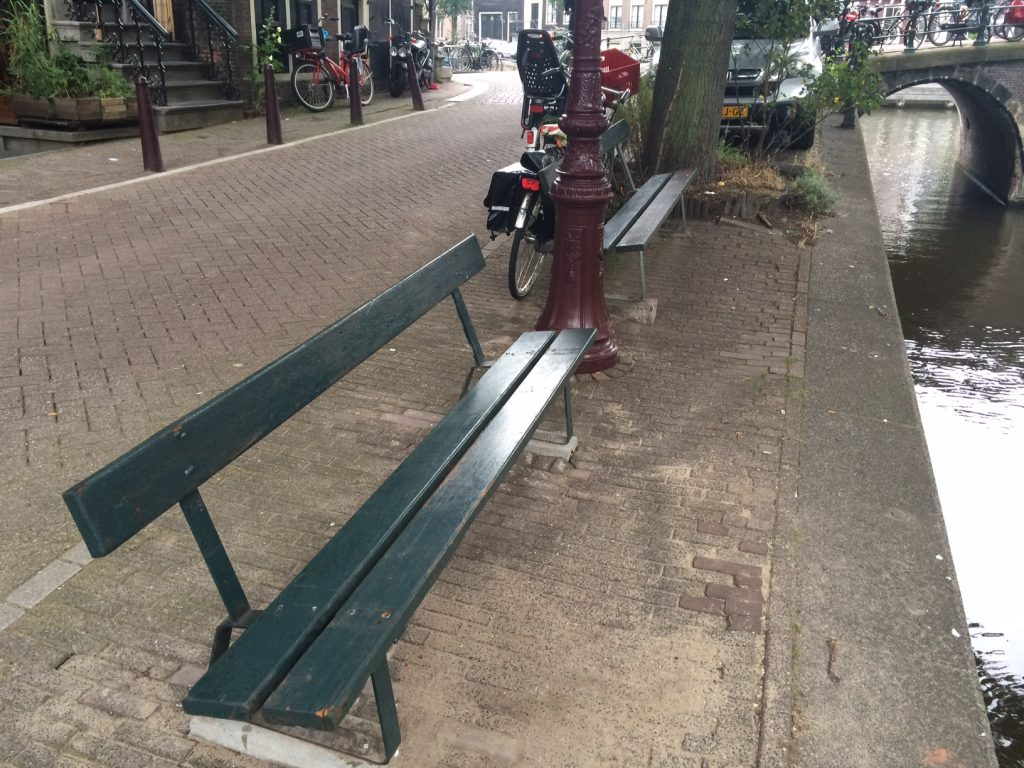Bankje The Fault In Our Stars.Exact Location Of Bench In Amsterdam The Fault In Our Stars