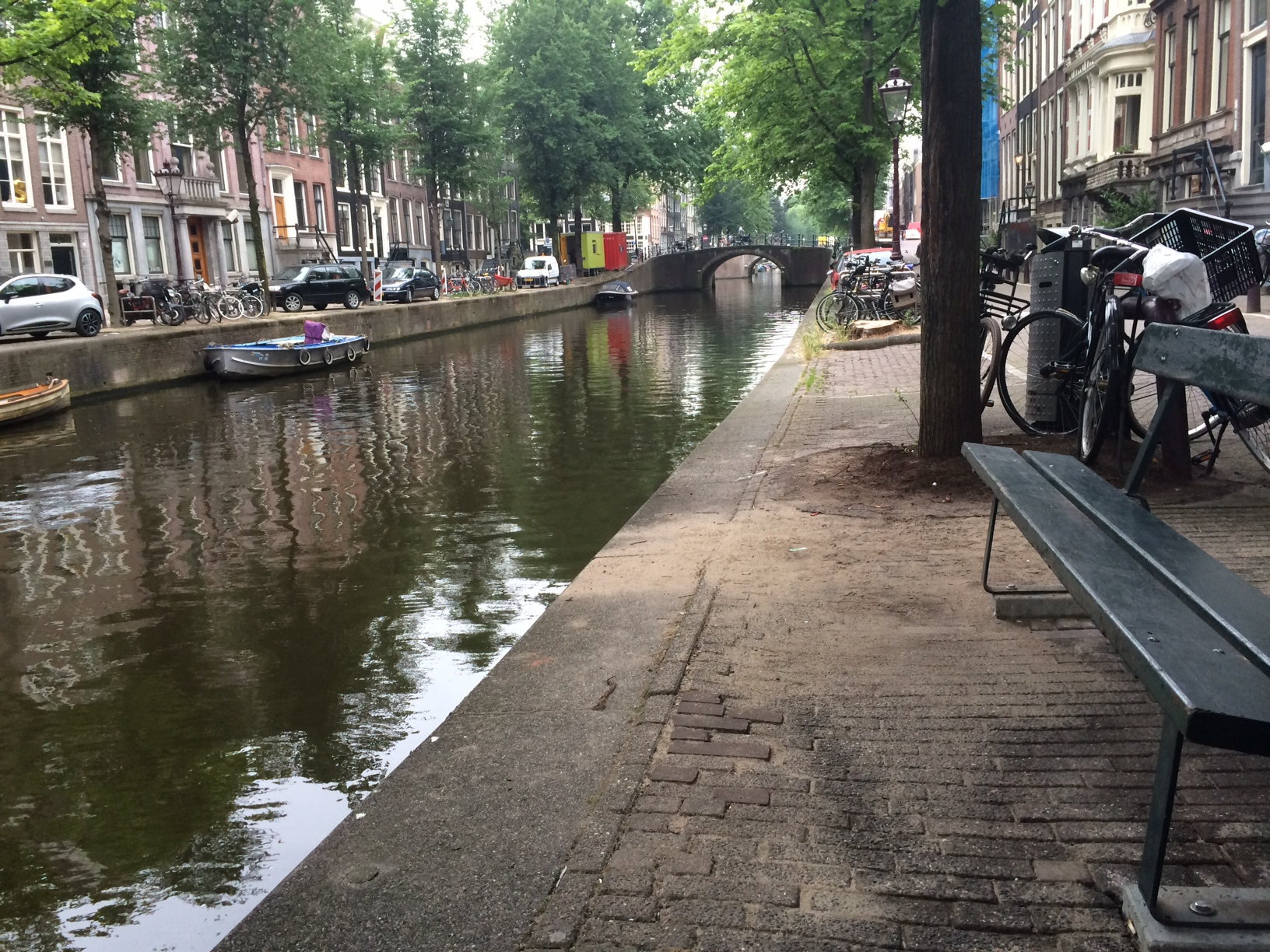 Exact Location Of Bench In Amsterdam The Fault In Our