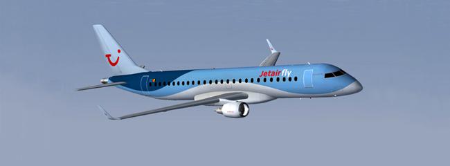 Vliegen met JetAir vanaf Antwerpen